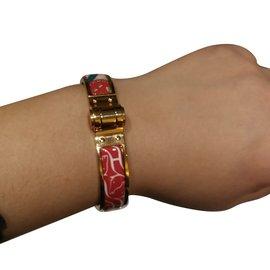 Hermès-Bracelet charnière-Multicolore