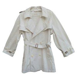 Hermès-Trenchs-Blanc