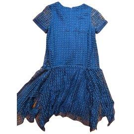 Chloé-Robe-Bleu
