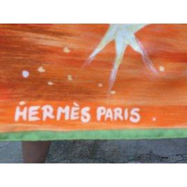 Hermès-cuir du desert-Rouge,Orange