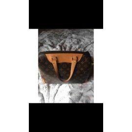 Louis Vuitton-Retiro NM-crème,marron clair