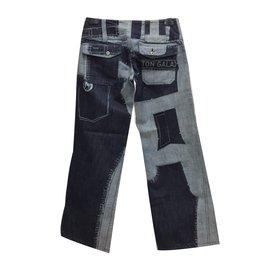 Issey Miyake-Jeans-Bleu