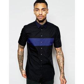 Diesel-Chemises-Noir,Bleu