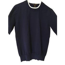Louis Vuitton-Tops-Bleu Marine