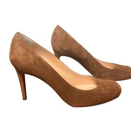 Christian Louboutin-Simple pump-Caramel