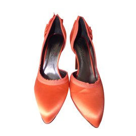 Lanvin-Escarpins-Orange