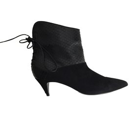 Saint Laurent-Bottines-Noir