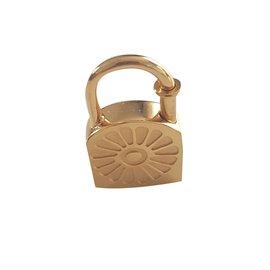 Hermès-Pendant necklaces-Golden