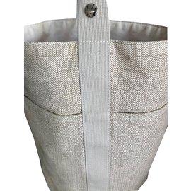 Hermès-Saxo GM-Écru