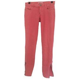 Maje-Jeans-Rose,corail