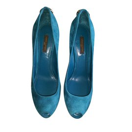 Louis Vuitton-Escarpins Oh Really-Bleu