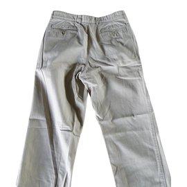 Lacoste-Pantalons homme-Beige