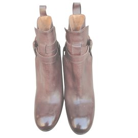 Atelier Voisin-Bottines-Marron