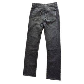 Helmut Lang-Jeans droit-Noir