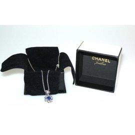 Chanel-Comète-Argenté,Bleu