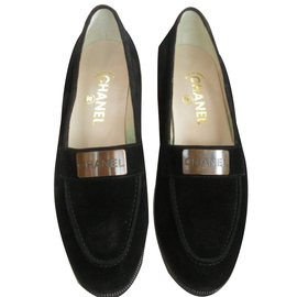 Chanel-Loafers-Black
