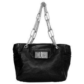 Chanel-chanel  maxi jumbo 2.55-Noir