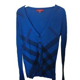 Burberry-Knitwear-Blue