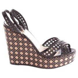 Sandales femme Christian Dior occasion - Joli Closet a5e1ac1d434
