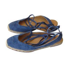 Hermès-Espadrilles-Bleu