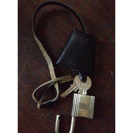 Hermès-Lock-Silvery