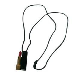 Chanel-Colliers-Noir,Doré