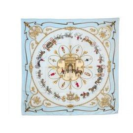 """Hermès-Carré Hermès collector """"The Royal Mews"""" * .-Autre"""