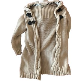 Burberry-Sweaters-Beige