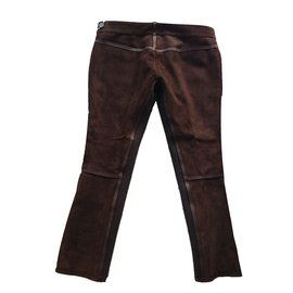 Dsquared2-Pantalons-Marron