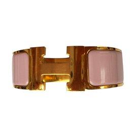 Hermès-Constance clic clac H-Rose