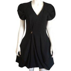 Alexander Mcqueen-Dress-Black