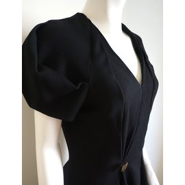 Alexander Mcqueen-Dress-Black
