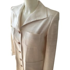 Yves Saint Laurent-Robes-Beige