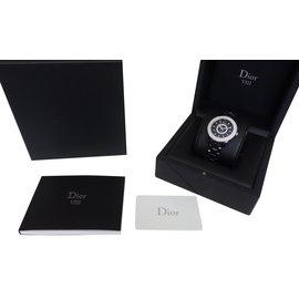 Dior-MONTRE VIII DIAMANTS-Noir