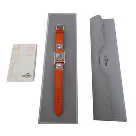Hermès-MONTRE MEDOR-Orange