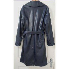 Zara-Men Coat-Blue