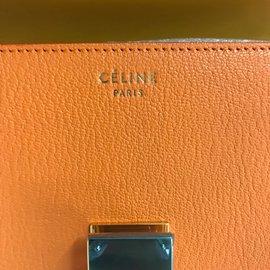 Céline-Classic Box Medium-Orange