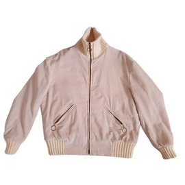 Autre Marque-Dunhill Jackets-Cream