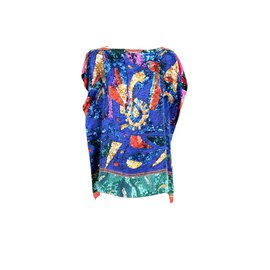 Pierre Louis Mascia-Silk Caftan shirt-Multiple colors