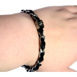 Chanel-Bracelet-Argenté