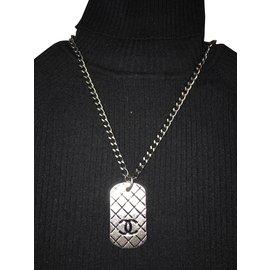 Chanel-Necklaces-Dark grey