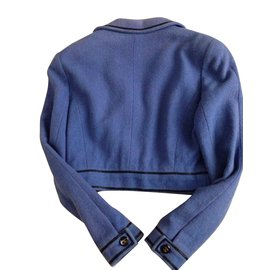 Chanel-Vestes-Bleu,Violet