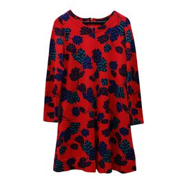 Marc by Marc Jacobs-Robes-Rouge,Multicolore