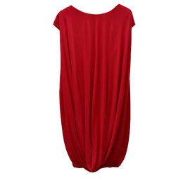 Alexander Mcqueen-Dress-Red