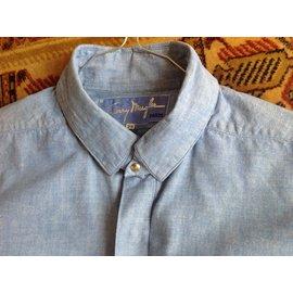 Thierry Mugler-Shirt-Blue