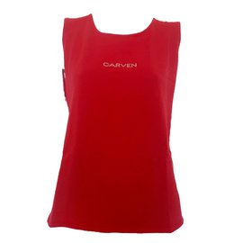 Carven-Top-Rouge