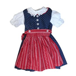 Autre Marque-Turi Outfit-White,Red,Navy blue