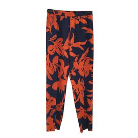 Dries Van Noten-Pantalon-Multicolore
