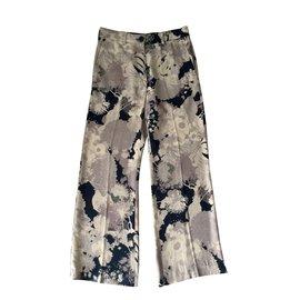 Dries Van Noten-Pantalon-Multicolore