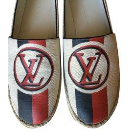 Louis Vuitton-Espadrilles-Beige